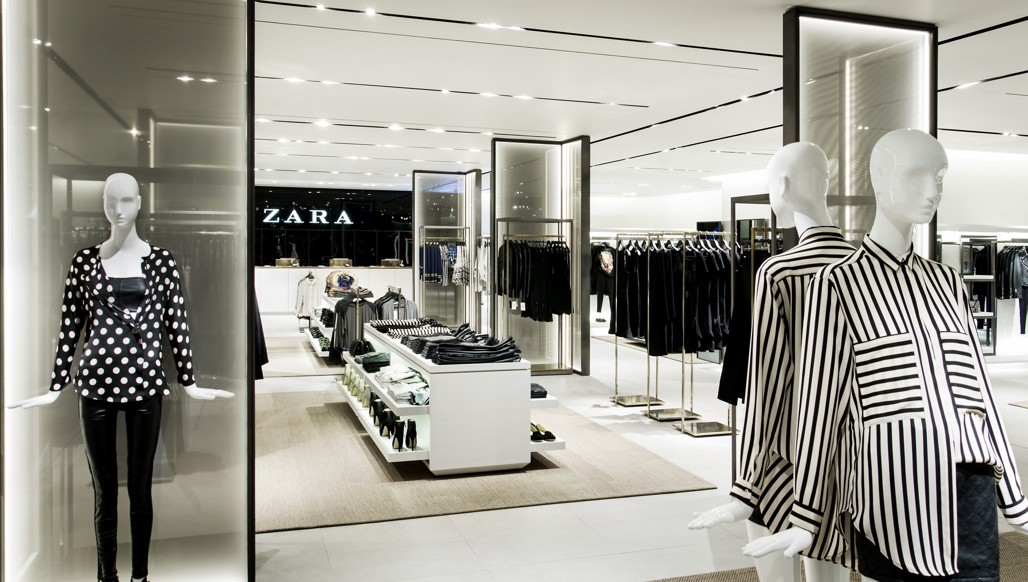 zara inditex The world's biggest clothing retail group inditex, owner of fashion chain zara, today reported a 3% rise in first-half profit and a rise in gross margin despite a stronger euro.